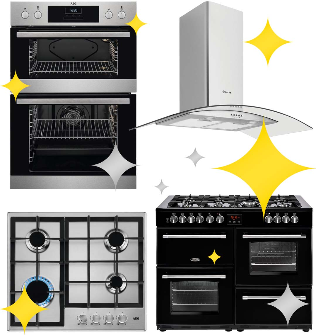 kitchen appliance cleaning